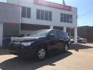 Used 2014 Mitsubishi Outlander SE for sale in Edmonton, AB