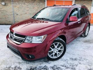 Used 2011 Dodge Journey AWD 4dr R/T, $129 b/w, heated leather, bluetooth, rims &more for sale in Calgary, AB