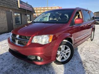 Used 2016 Dodge Grand Caravan 4dr Wgn Crew, $129 bi-weekly ONLY !! for sale in Calgary, AB