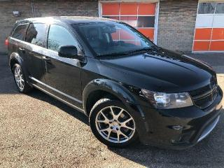Used 2014 Dodge Journey AWD R/T RALLYE 7 passenger/Leather/Sunroof $139 bi-weekly for sale in Calgary, AB