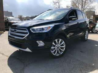 Used 2018 Ford Escape Titanium 4WD $199 B/W NAV,LEATHER,MOONROOF & MORE for sale in Calgary, AB