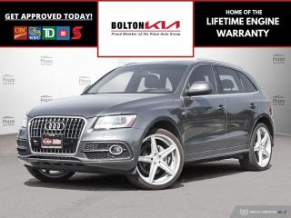 Used 2014 Audi Q5 2.0T | S LINE | BACKUP CAM | SUNROOF for sale in Bolton, ON