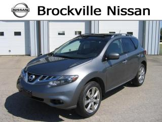 Used 2014 Nissan Murano Platinum AWD for sale in Brockville, ON