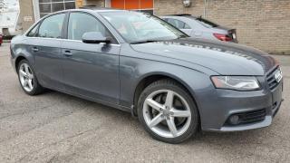 Used 2012 Audi A4 4dr Sdn Auto quattro 2.0T Premium for sale in Calgary, AB