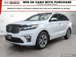 Used 2019 Kia Sorento SX | NAV | BackUp CAM | AWD | 7 Passenger for sale in Bolton, ON