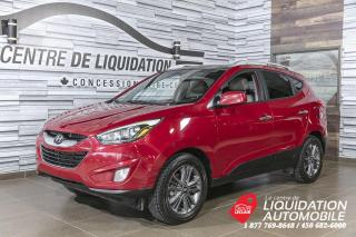 Used 2015 Hyundai Tucson GLS+AWD+MAGS+A/C+TOIT/OUV+BLUETOOTH for sale in Laval, QC