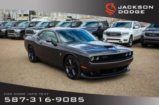 Used 2019 Dodge Challenger Scat Pack 392 - NAV, Rear View Cam. for sale in Medicine Hat, AB