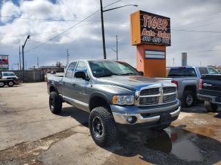 Used 2005 Dodge Ram 2500 SLT**HEAVY DUTY**LIFTED**WHHELS**ONLY 186KMS**CERT for sale in London, ON