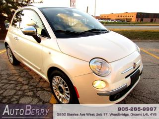 Used 2012 Fiat 500 Lounge - Auto for sale in Woodbridge, ON