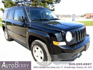 Used 2013 Jeep Patriot SPORT - 4WD - 2.4L for sale in Woodbridge, ON