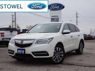 Used 2016 Acura MDX TECHNOLOGY PACKAGE | WINTER TIRES | ALL NEW BRAKES for sale in Listowel, ON