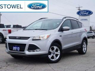 Used 2015 Ford Escape SE | POWER SEAT | PARK SENSORS | DUAL AC for sale in Listowel, ON