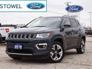 Used 2018 Jeep Compass LIMITED | NAV | LEATHER | BACKUP CAM for sale in Listowel, ON