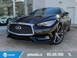Used 2017 Infiniti Q60 3.0T AWD PREMIUM BEAUTIFUL CONDITION LOW MINT for sale in Edmonton, AB