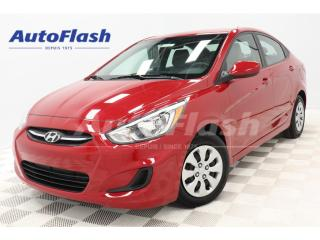 Used 2017 Hyundai Accent GL *BLUETOOTH *A/C *CRUISE *SIEGES-CHAUFFANTS for sale in St-Hubert, QC