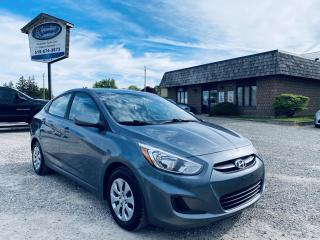 Used 2016 Hyundai Accent SE for sale in Ridgetown, ON