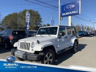 Used 2017 Jeep Wrangler Jeep Wrangler Unlimited **SAHARA** 4 por for sale in Victoriaville, QC