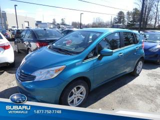 Used 2016 Nissan Versa Note 1.6 SV à hayon 5 portes BA for sale in Victoriaville, QC