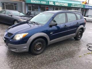 Used 2003 Pontiac Vibe for sale in Vancouver, BC