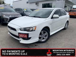 Used 2014 Mitsubishi Lancer SE    LIMITED - $45.18 /Wk for sale in Hamilton, ON