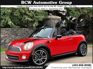 Used 2015 MINI Cooper CONVERTIBLE Chrome Line Convertible for sale in Calgary, AB