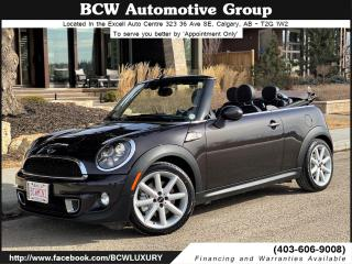 Used 2015 MINI Cooper CONVERTIBLE S Highgate Edition for sale in Calgary, AB