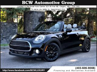 Used 2016 MINI Cooper CONVERTIBLE Convertible for sale in Calgary, AB