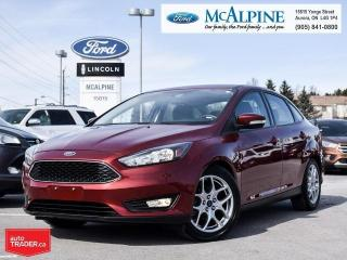 Used 2015 Ford Focus SE for sale in Aurora, ON