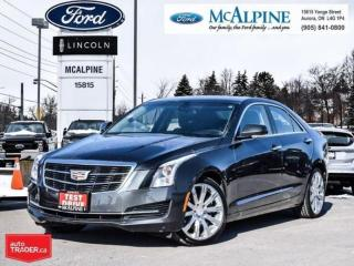 Used 2016 Cadillac ATS Sedan 2.0 Turbo Luxury Collection for sale in Aurora, ON