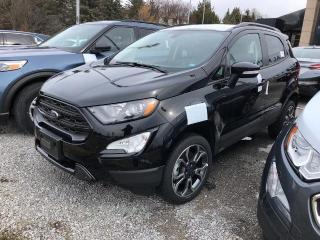 New 2019 Ford EcoSport SES for sale in Aurora, ON
