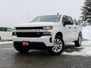 Used 2019 Chevrolet Silverado 1500 CUSTOM | V8 | BACK UP CAM | APPLE CAR PLAY | BLUET for sale in Waterloo, ON