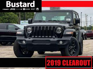 New 2019 Jeep Wrangler Sport | 4WD | FOG LAMPS | PUSHBUTTON START for sale in Waterloo, ON