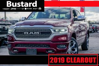 New 2019 RAM 1500 LTD | 4WD |  NAV | LEATHER | FOG LAMPS for sale in Waterloo, ON