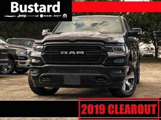 New 2019 RAM 1500 LARAMIE | 4X4 | NAV | PARK ASSIST | LEATHER for sale in Waterloo, ON