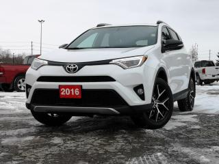 Used 2016 Toyota RAV4 SE | AWD | LEATHER | HEATED SEATS for sale in Waterloo, ON