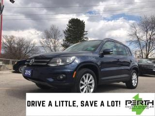 Used 2015 Volkswagen Tiguan for sale in Mitchell, ON