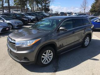 Used 2015 Toyota Highlander LE AWD for sale in Mississauga, ON