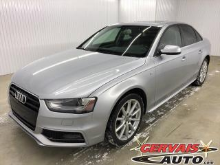 Used 2015 Audi A4 Progressiv plus Quattro AWD GPS Cuir Toit MAGS for sale in Trois-Rivières, QC