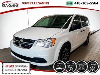 Used 2018 Dodge Grand Caravan CVP* CAMERA DE RECUL* BIZONE* for sale in Québec, QC