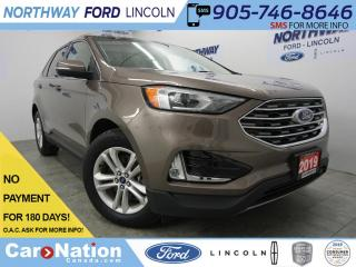 Used 2019 Ford Edge SEL | LEATHER | NAV | REAR CAM | AWD | HTD SEATS for sale in Brantford, ON
