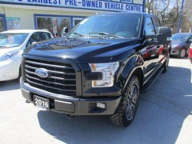2016 Ford F-150 WORK READY XLT EDITION 5 PASSENGER 5.0L - V8.. 4X4.. CREW.. SHORTY.. NAVIGATION.. PRO-TRAILER ASSIST.. BACK-UP CAMERA.. HEATED SEATS.. POWER PEDALS..