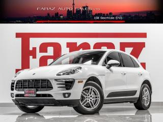 Used 2017 Porsche Macan S|LCA|LDW|NAVI|360CAM|PANO|ALCANTARA|LOADED for sale in North York, ON