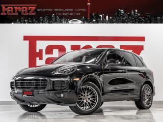 Used 2017 Porsche Cayenne 3.6 V6 BOSE LCA PREM PLUS NAVI REAR CAM LOADED for sale in North York, ON