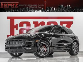 Used 2016 Porsche Macan TURBO NAVI REAR CAM 21