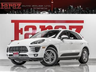 Used 2017 Porsche Macan B.SPOT|LANE DEPART|PREM PLUS|COOLED SEATS|LOADED for sale in North York, ON