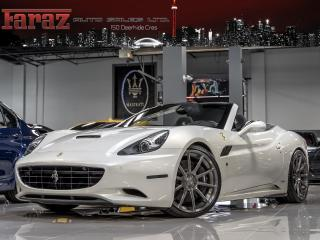 Used 2012 Ferrari California **SORRY SOLD|CONVERTIBLE|FULL CARBON PKG|RACE SEATS|NAVI|REARCAM for sale in North York, ON