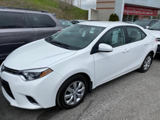 Used 2016 Toyota Corolla LE SIÈGES CHAFFANT for sale in Longueuil, QC