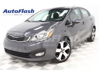 Used 2015 Kia Rio SX *CAMERA *BLUETOOTH  *CRUISE *A/C *SIEGES CHAUFF for sale in St-Hubert, QC