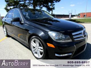 Used 2012 Mercedes-Benz C-Class C250 - 4MATIC - NAVI for sale in Woodbridge, ON