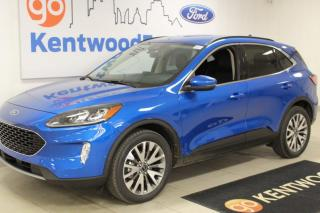 Used 2020 Ford Escape 3 months Deferral *oac | Titanium | AWD | Heated Leather | Nav | Heads up display | for sale in Edmonton, AB